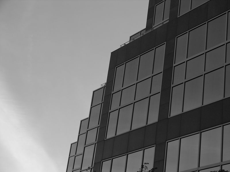Architecture & Sky in B&W