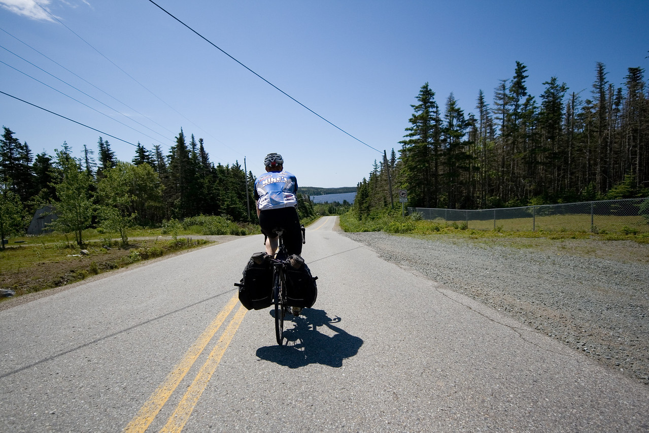 Now onto Sheet harbour passage. A loop that takes us off the busier route 7...and its more scenic.