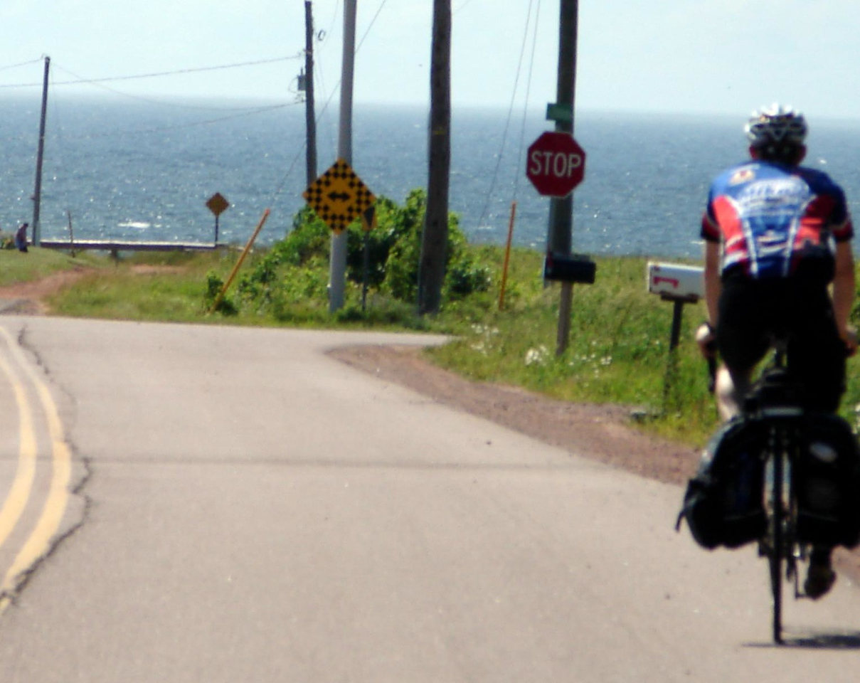 Entering Campbellton PEI.