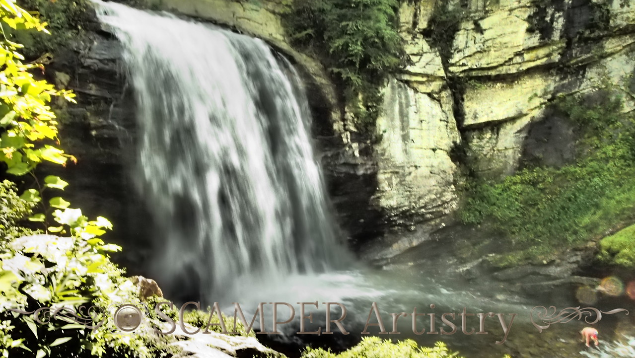 Looking Glass Falls, Pisgah National Forest, NC