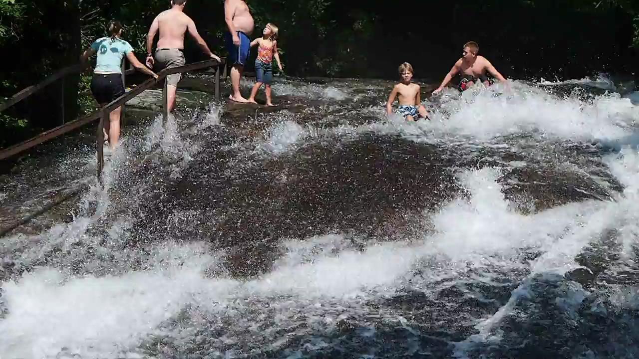 Sliding Rock Falls - Pisgah National Forest, NC