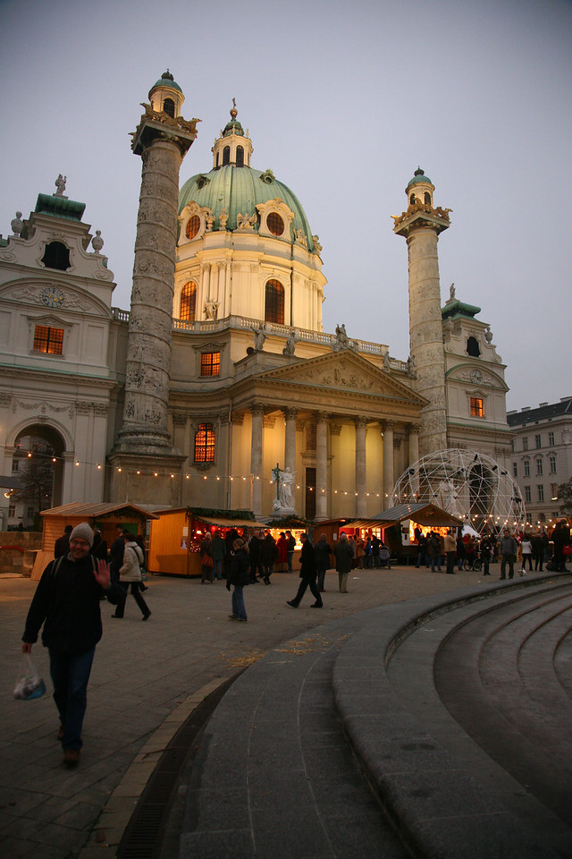 A little taste of a Christmas market oder kristkindelmarkt auf Deutsch.
