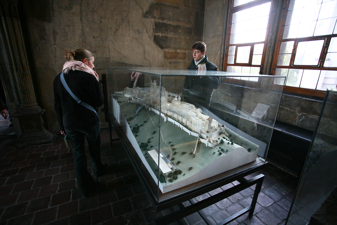 A model of the Castle.