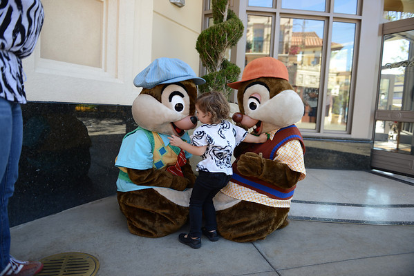 October - Disneyland