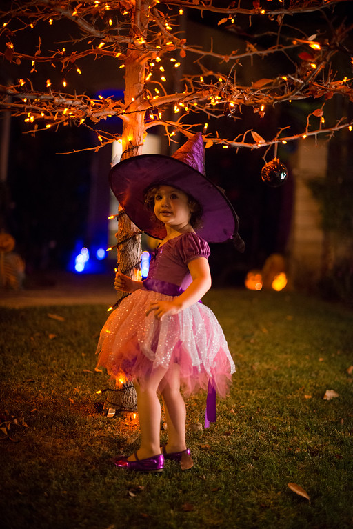 October - First Trick Or Treat