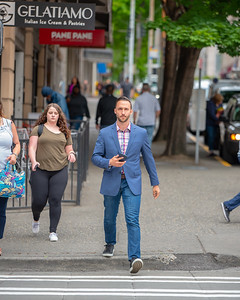 Some dapper ass dude, downtown Seattle, June 2018