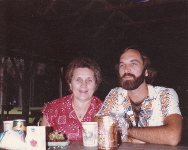 Mom and Allan - Florida 1985