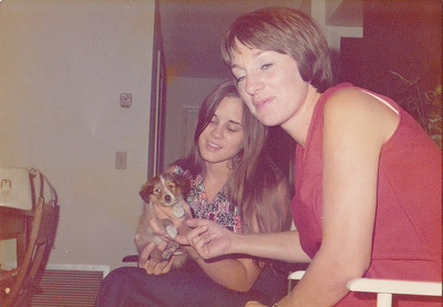 Nancy and Linda - August 1974
