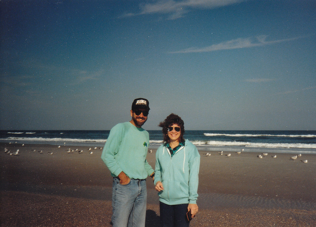 Allan and Nancy in Florida - Dec 1989