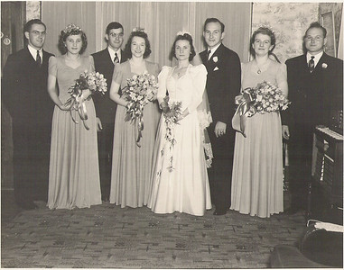 Walter and Marrion's Wedding - Sept. 13-1941