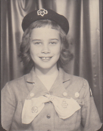 Nancy - Girl Scout - around age 10