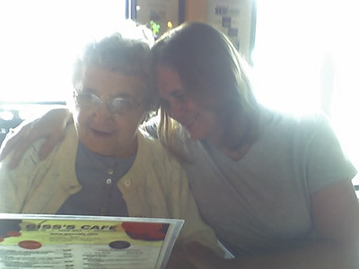Mom and Nancy - 2009?