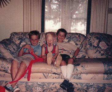 Brian, John and Paul