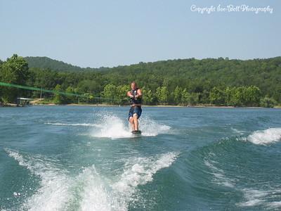 07/21/03  Doug wakeboarding.