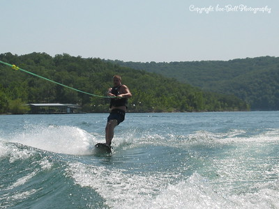 07/21/03  Doug wakeboarding.
