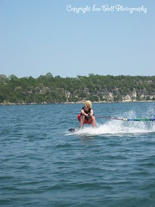 05/28/03  Patrick wakeboarding.