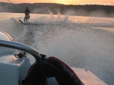 07/27/03  Richard up on his salome ski.