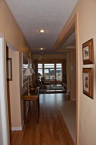 Hall looking toward front of house