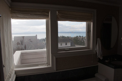 View from bathroom windows