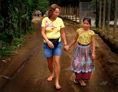 Debbie & Viviana San Juan La Laguna, Guatemala