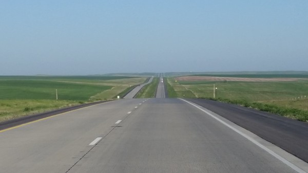 South Dakota at 80 mph