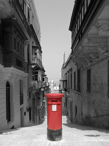 Post Box @ Valletta - Malta