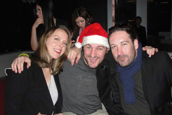 With Hart and Ned, That's Shanghai Xmas party 2012