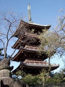 Pagoda in Tokyo, Japan