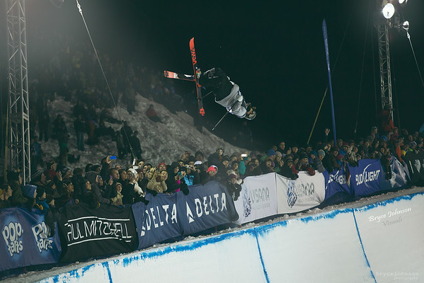 Winter Olympic qualifying at Park City's superpipe