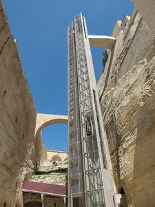 Barakka Lift. Valletta - Malta