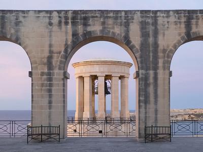 Siege Bell War Memorial, Valletta - Malta