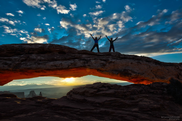 This is how everyday should start!  Mesa Arch, Utah