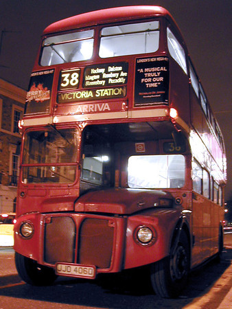 The Last Journey of Routemaster 38