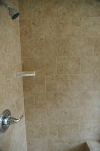 Master bedroom bathroom. - Inside Shower.