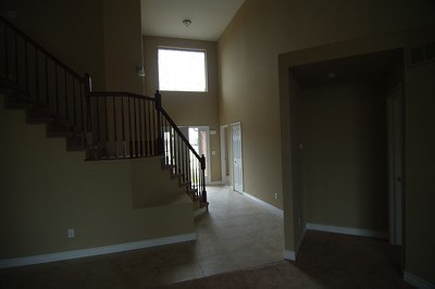Entrance, on right is the master bed room.