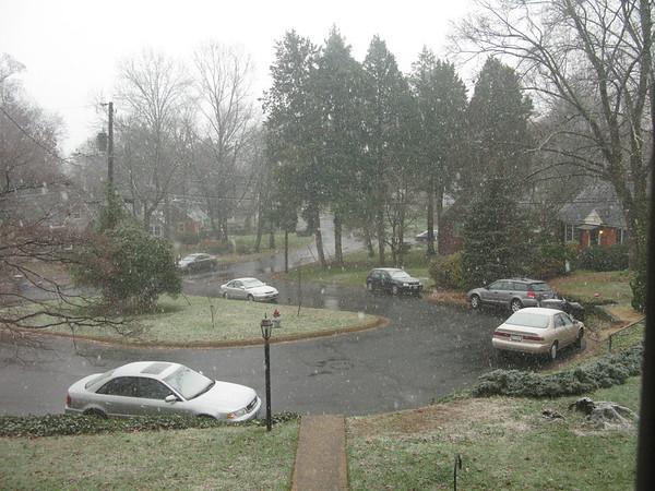 World-ending snow storm in Virginia