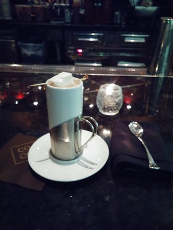 Best hot chocolate ever at CoCo Sala in downtown DC!