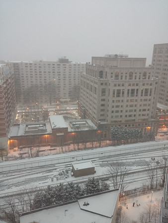 Lots of snow throughout Silver Spring