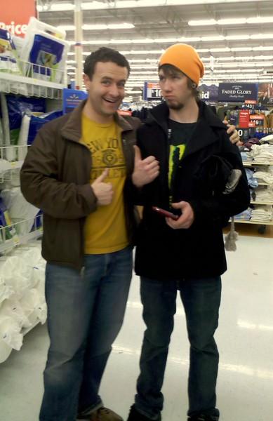 fun at Wal-Mart!!