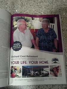 My grandpa and Eleanor - local celebrities