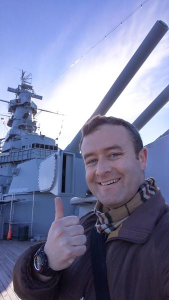 The USS Massachusetts, Battleship Cove at Fall River, MA