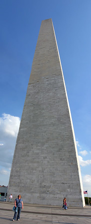 and now at the Washingon Monument