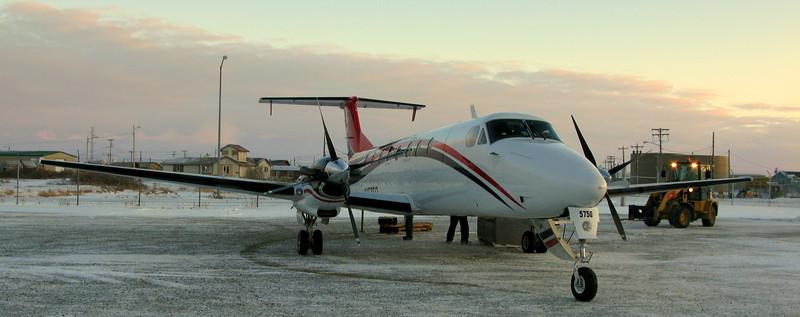 The plane to Kotzebue!