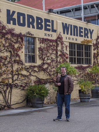 Our first stop: our neighbors, the Korbels