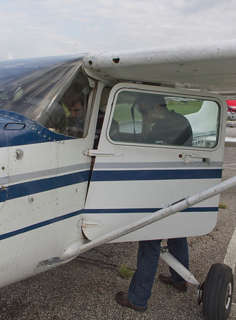 Next up - an afternoon of flying lessons!
