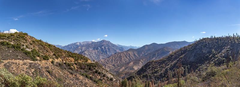 The view near Kings Canyon Lodge