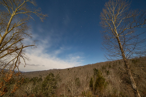 View north from my room in Pine Mountain State Resort Park - I true Gem in the Kentucky State Park system