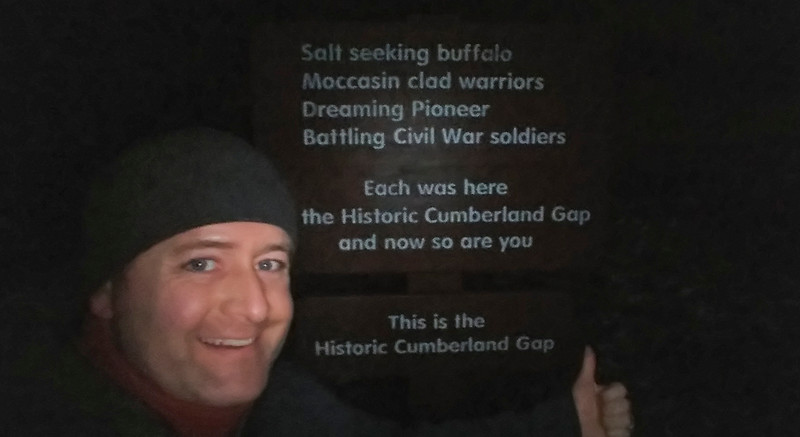 I hit the Cumberland Gap around twilight
