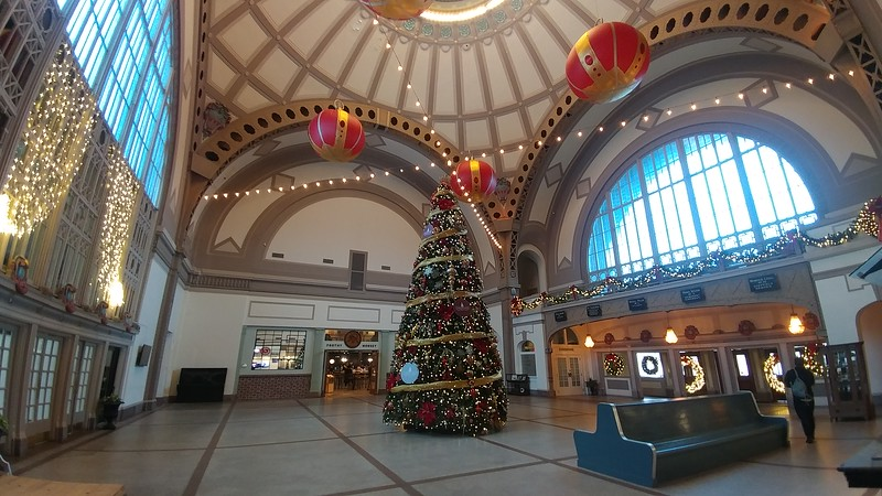 Inside the historic Chattanooga rail station