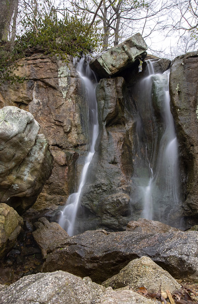 A waterfall on Lookout Mountain